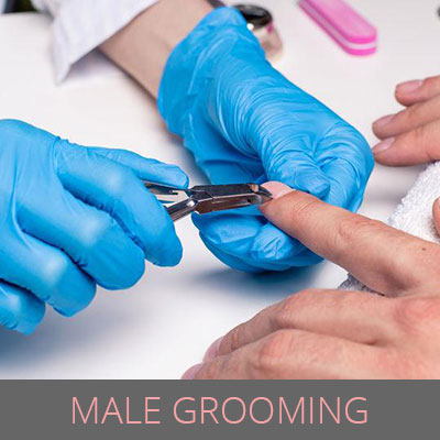 male grooming treatments, avant garde hair and beauty salons, worcester