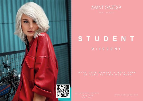 student discounts Avant Garde Hair Salons In Worcester Hereford