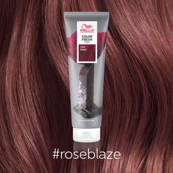 Color Fresh Masks Close Ups Rose Blaze