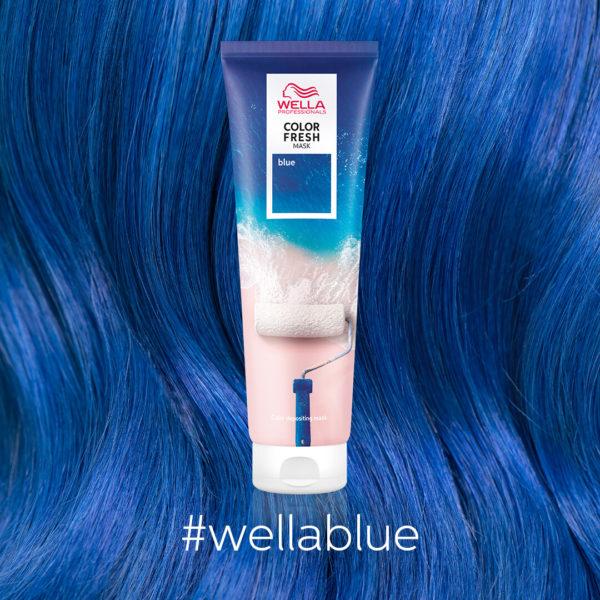 Color Fresh Masks Close Ups Blue