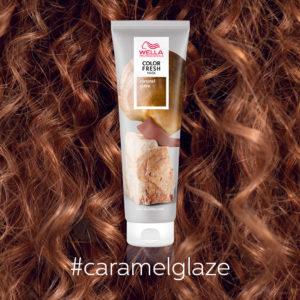 Color Fresh Masks Close Ups Caramel Glaze