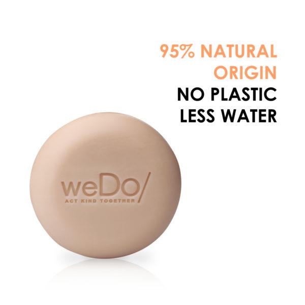 weDo solid shampoo SoMe post